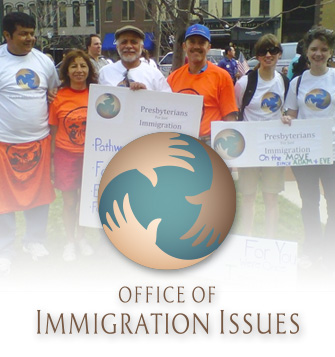 PCUSA Immigration logo